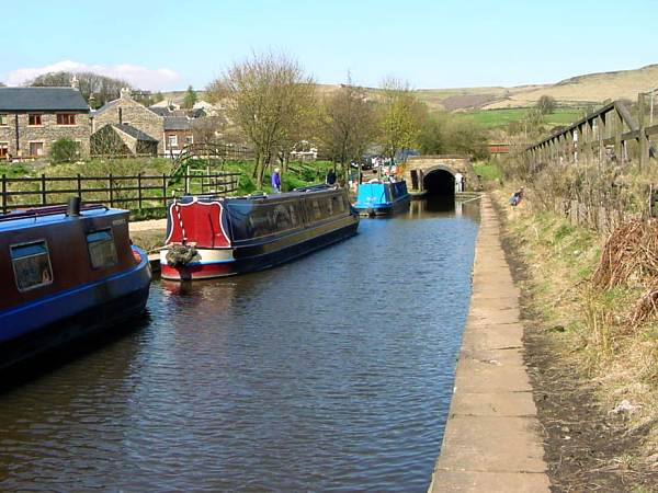 Standedge tunnel portal, Diggle, Huddersfield Narrow Canal, Saddleworth