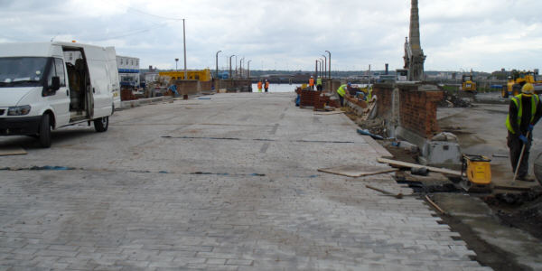 Site of Floating Roadway, Liverpool canal link