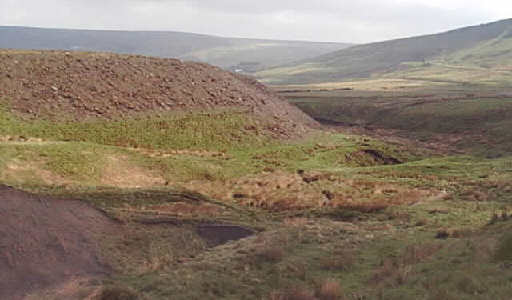 Spoil Heaps at Red Brook, Standedge