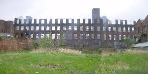 The mill after the fire