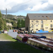 Calder and Hebble Navigation at Sowerby Bridge