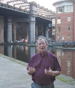 Fred Talbot at Castlefield