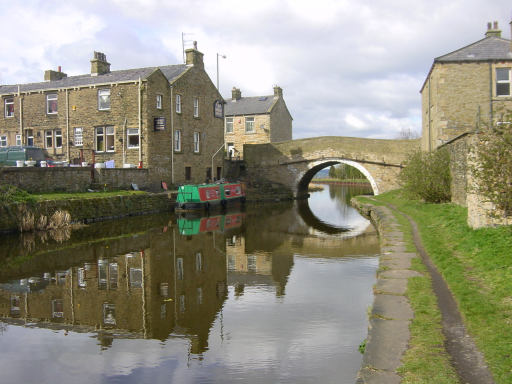 Hapton Bridge, Leeds and Liverpool Canal