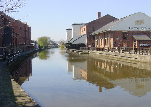 Wigan Pier, Leeds and Liverpool Canal