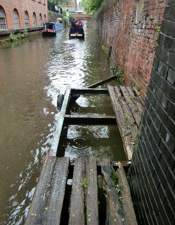 This landing below Lock 86 is to be improved. Photo: Alan Platt